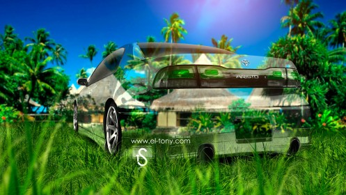 Toyota-Aristo-JZS147-JDM-Crystal-Nature-Car-2013-HD-Wallpapers-design-by-Tony-Kokhan-[www.el-tony.com]