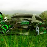 Toyota Chaser JZX100 Back JDM Crystal Nature Car 2013