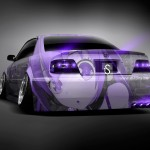 Toyota Chaser JZX100 JDM Back Anime Aerography 2013