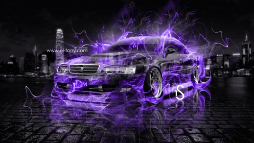 Toyota-Chaser-JZX100-JDM-Super-Violet-Fire-Crystal-Car-2013-HD-Wallpapers-by-Tony-Kokhan-[www.el-tony.com]