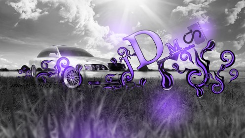Toyota-Cresta-JZX100-JDM-Crystal-Nature-Car-2013-Violet-Neon-design-by-Tony-Kokhan-[www.el-tony.com]