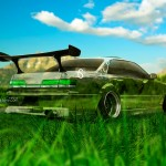 Toyota Mark 2 JZX100 JDM Crystal Nature Car 2013