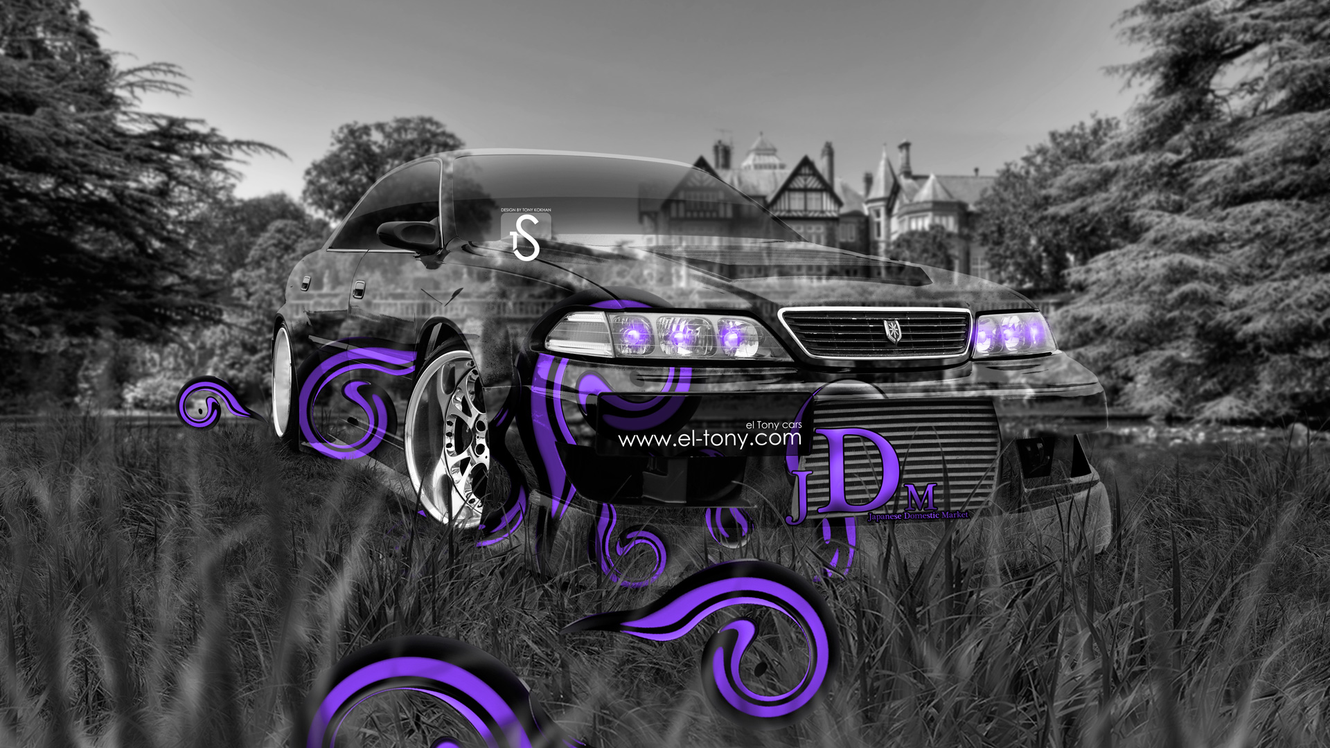 ... Toyota Mark 2 JZX100 JDM Tuning Crystal Nature  ... Home Design Ideas