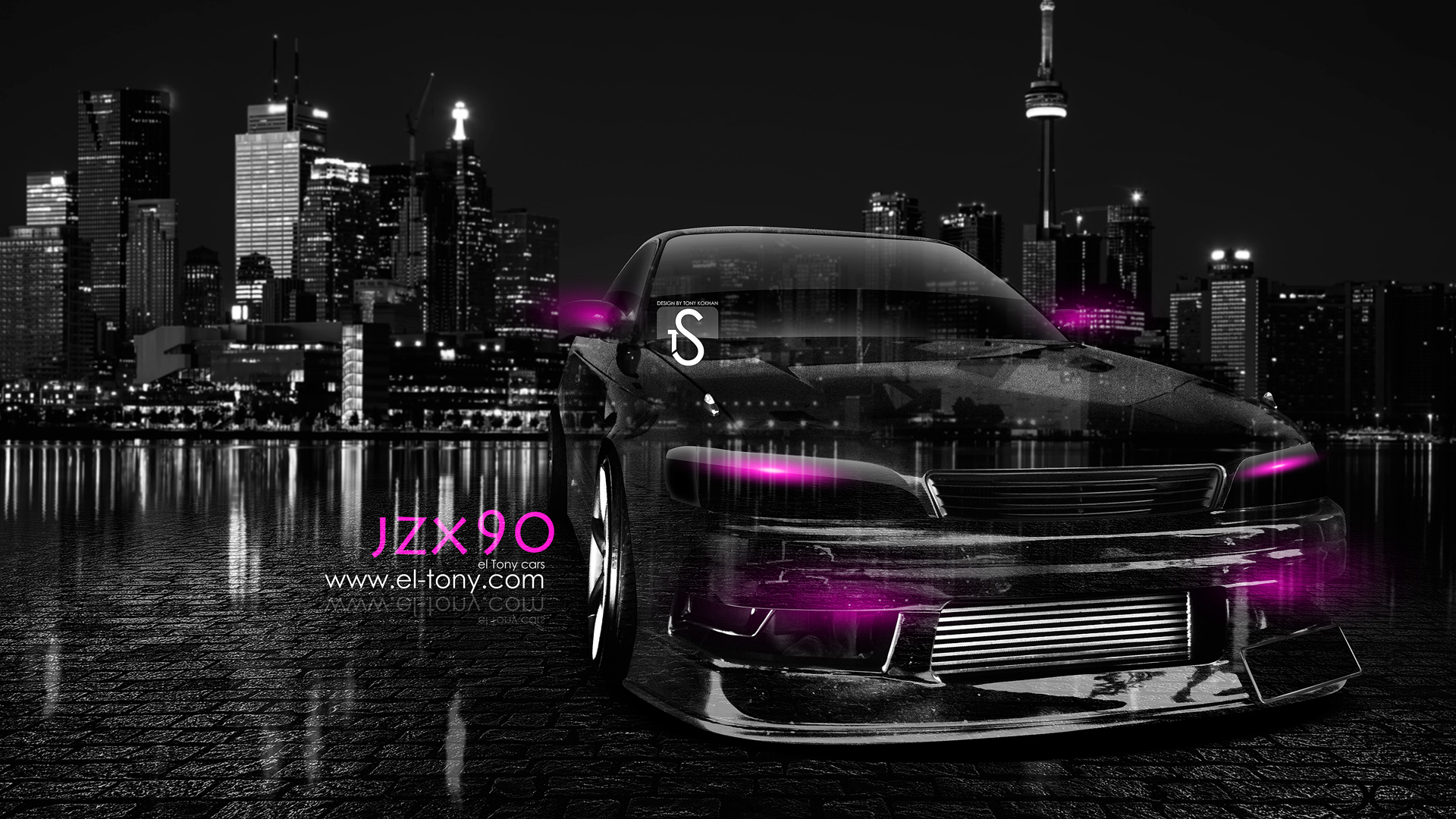 ... Toyota Mark 2 JZX90 JDM Front Crystal City  ...
