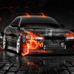 Toyota Mark 2 JZX90 JDM Fire Crystal City Car 2013