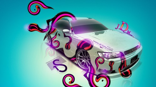 Toyota-Mark-2-JZX90-JDM-Style-2013-Crystal-Car-HD-Wallpapers-design-by-Tony-Kokhan-[www.el-tony.com]