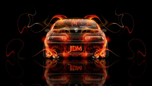 Toyota-Soarer-JDM-Back-Fire-Abstract-Car-2013-HD-Wallpapers-design-by-Tony-Kokhan-[www.el-tony.com]