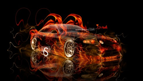 Toyota-Soarer-JDM-Fire-Car-2013-HD-Wallpapers-design-by-Tony-Kokhan-[www.el-tony.com]