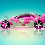 Toyota Supra JDM Fantasy Flowers Car 2013