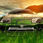 Toyota Supra JDM Front Crystal Nature Car 2013