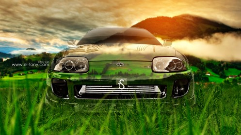 Toyota-Supra-JDM-Front-Crystal-Nature-Car-2013-HD-Wallpapers-design-by-Tony-Kokhan-[www.el-tony.com]