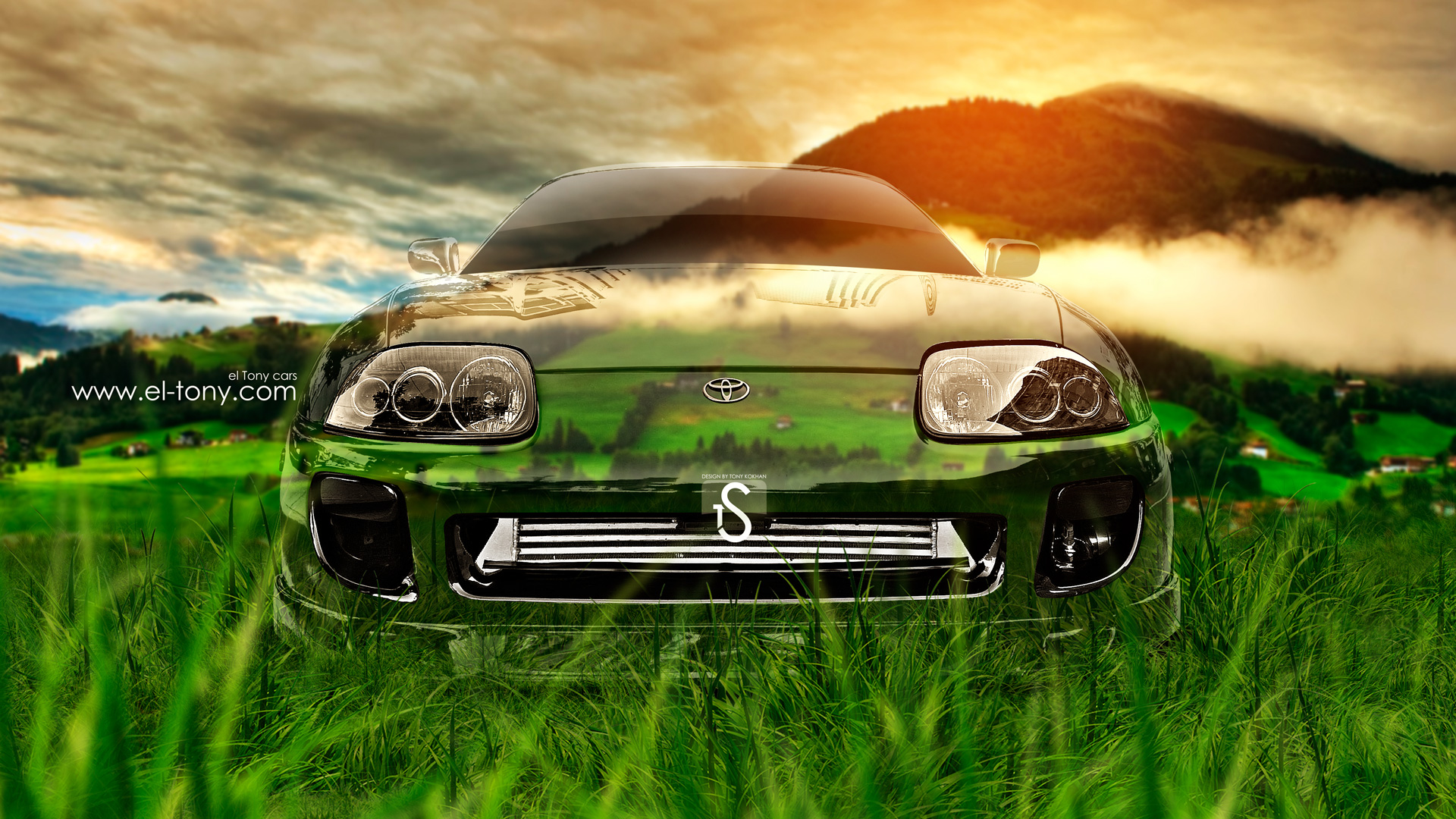 Superior Toyota Supra JDM Front Crystal Nature Car 2013