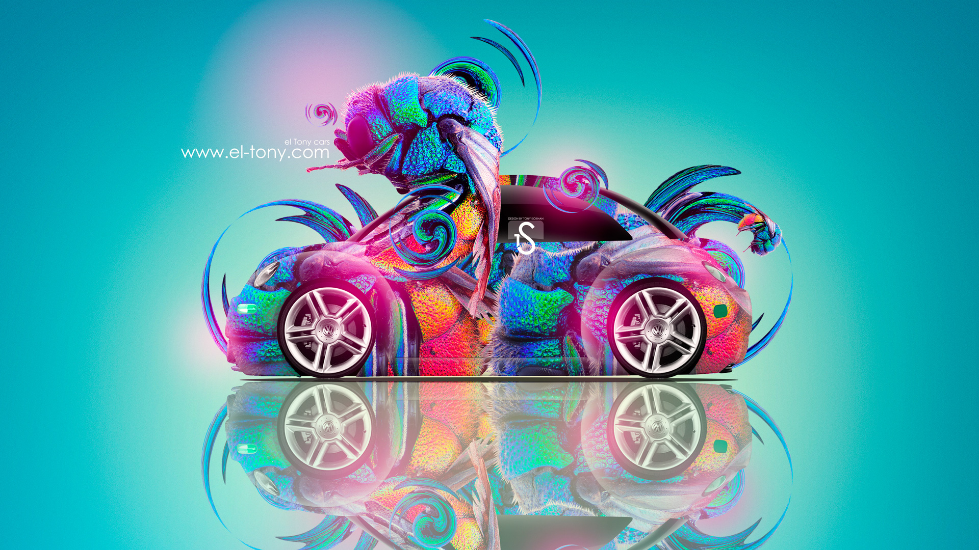 Volkswagen-Beetle-Fantasy-Car-2013-HD-Wallpapers-design-by-Tony-Kokhan-[www.el-tony.com]