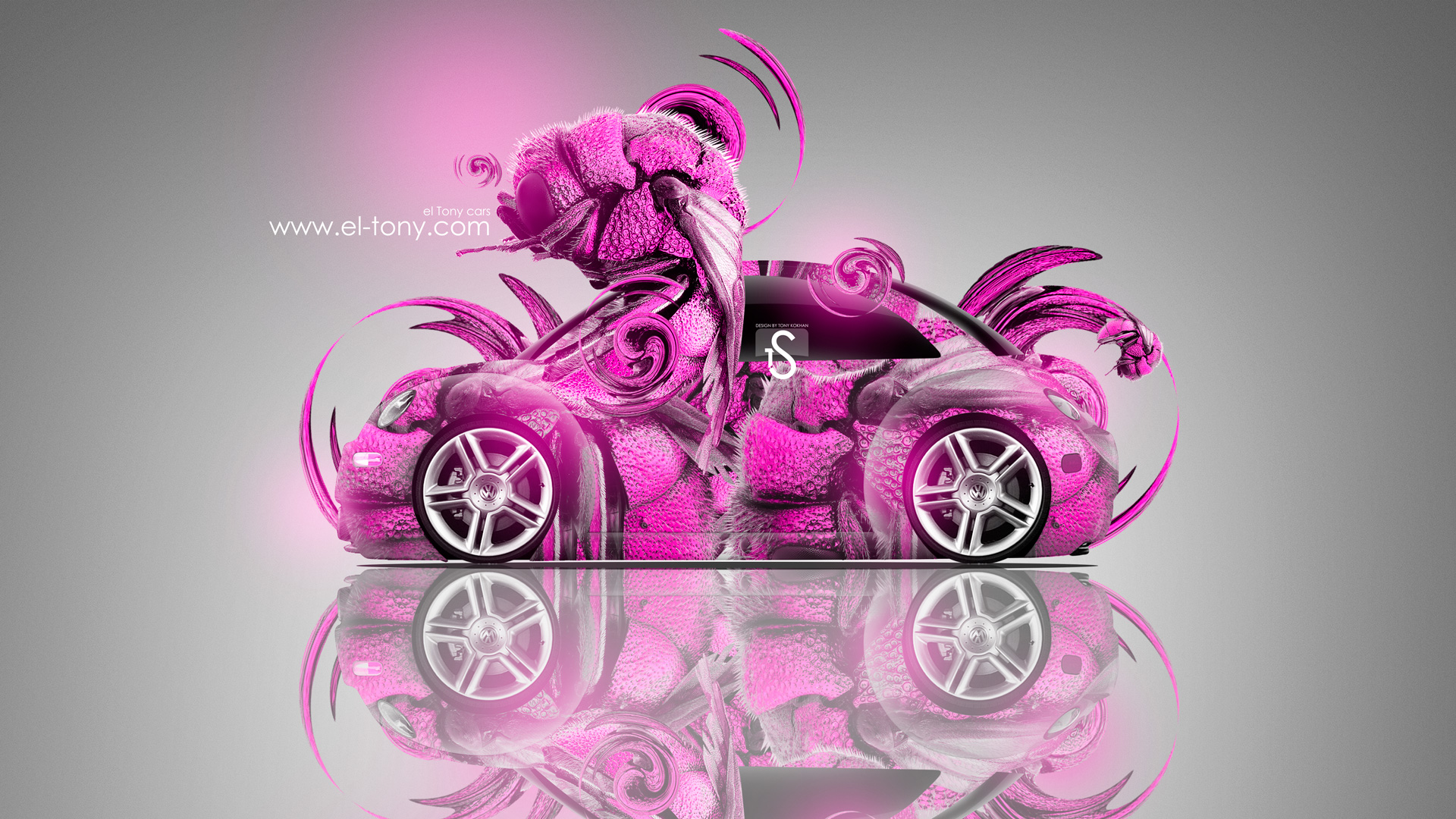 Volkswagen Beetle Fantasy Car 2013 El Tony