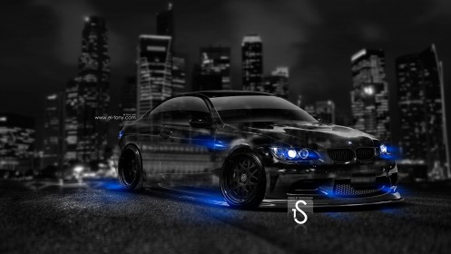 BMW-M3-Crystal-City-Car-2014-Blue-Neon-HD-Wallpapers-design-by-Tony-Kokhan-[www.el-tony.com]
