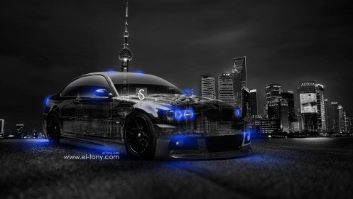 BMW-M3-Crystal-City-Car-2014-Blue-Neon-HD-Wallpapers--design-by-Tony-Kokhan-[www.el-tony.com]