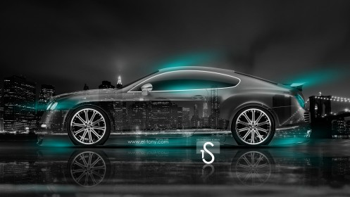 Bentley-Continental-GT-Azure-Neon-Crystal-City-Car-2014-design-by-Tony-Kokhan-[www.el-tony.com]