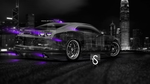 Chevrolet-Camaro-Muscle-Crystal-City-Car-2014-Violet-Neon-design-by-Tony-Kokhan-[www.el-tony.com]