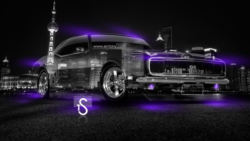 Chevrolet-Camaro-SS-Violet-Neon-Muscle-Crystal-City-Car-2014-design-by-Tony-Kokhan-[www.el-tony.com]