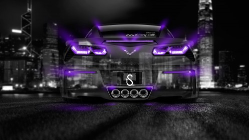 Chevrolet-Corvette-Stingray-C7-Crystal-City-Car-2014-Violet-Neon-design-by-Tony-Kokhan-[www.el-tony.com]