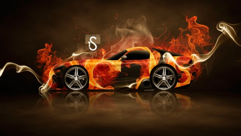 Dodge-Viper-SRT-10-Fire-Car-2014-HD-Wallpapers-design-by-Tony-Kokhan-[www.el-tony.com]
