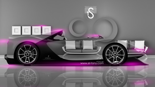 Ferrari-Sergio-Crystal-Home-Car-2014-Pink-Neon-HD-Wallpapers-design-by-Tony-Kokhan-[www.el-tony.com]