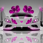 Koenigsegg Agera Fantasy Flowers Car 2014