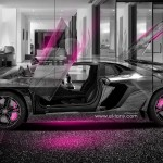 Lamborghini Aventador Crystal Home Car 2014