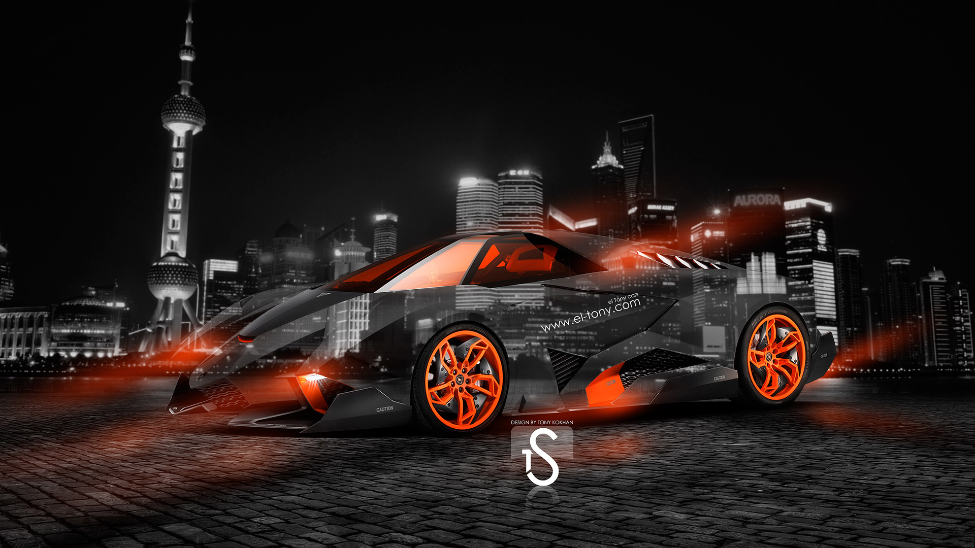 Lamborghini Egoista Crystal City Car 2014 ...