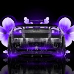 Lamborghini Gallardo Fantasy Water Flowers Car 2014