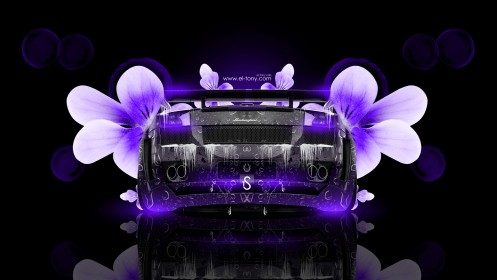 Lamborghini-Gallardo-Fantasy-Water-Flowers-Car-2014-Violet-Neon-design-by-Tony-Kokhan-[www.el-tony.com]