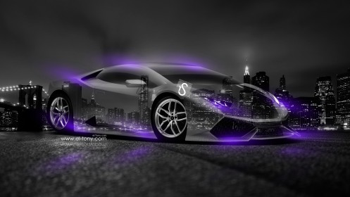 Lamborghini-Huracan-Crystal-City-Car-2014-Violet-Neon-design-by-Tony-Kokhan-[www.el-tony.com]