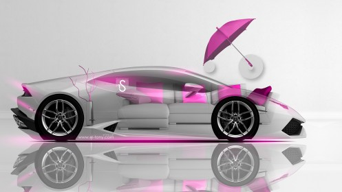 Lamborghini-Huracan-Crystal-Home-Car-2014-Pink-Neon-HD-Wallpapers-by-Tony-Kokhan-[www.el-tony.com]