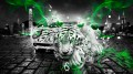 Lamborghini-Miura-Fantasy-White-Tiger-Car-2014-Green-Style-design-by-Tony-Kokhan-[www.el-tony.com]