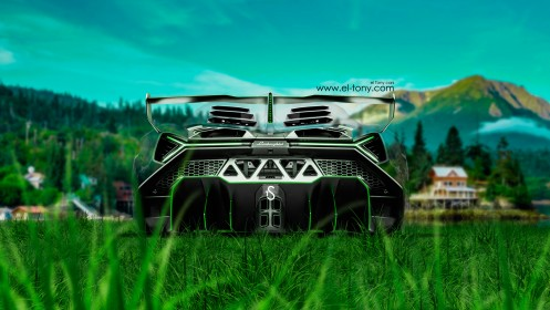 Lamborghini-Veneno-Crystal-Nature-Car-2014-HD-Wallpapers-design-by-Tony-Kokhan-[www.el-tony.com]