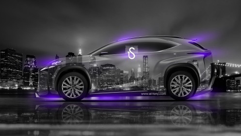Lexus-LF-NX-Crystal-City-Car-2014-Violet-Neon-HD-Wallpapers-design-by-Tony-Kokhan-[www.el-tony.com]