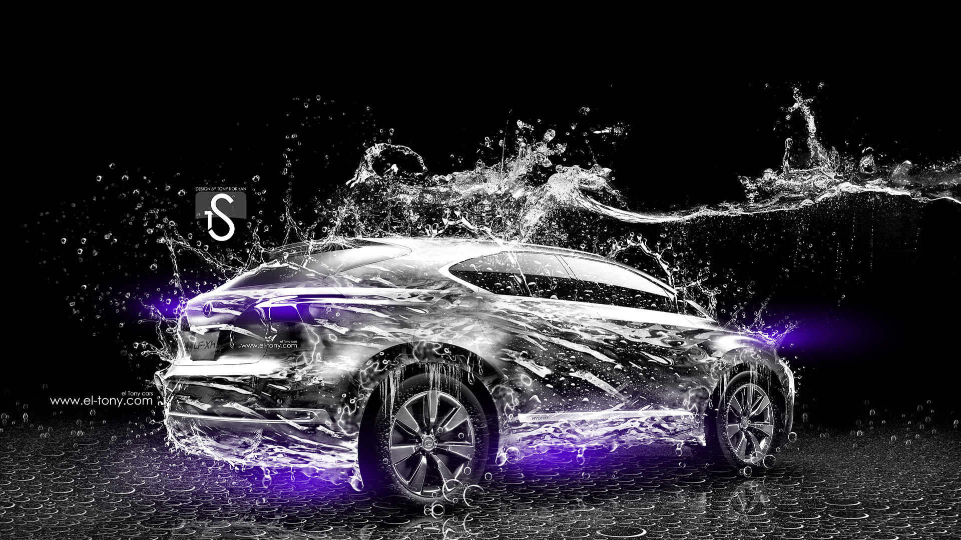 Charmant Lexus LF Xh Water Car 2014