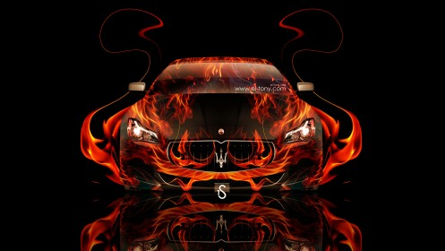 Maserati-Quattroporte-Fire-Abstract-Car-2014-design-by-Tony-Kokhan-[www.el-tony.com]