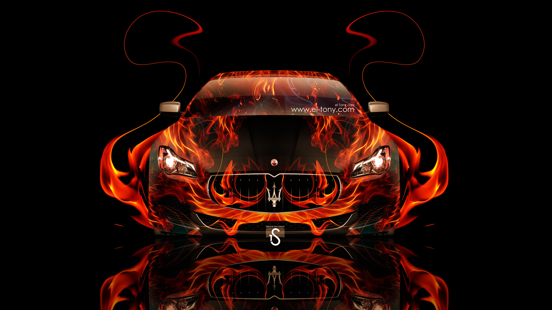 Charming Maserati Quattroporte Fire Abstract Car 2014 Design By