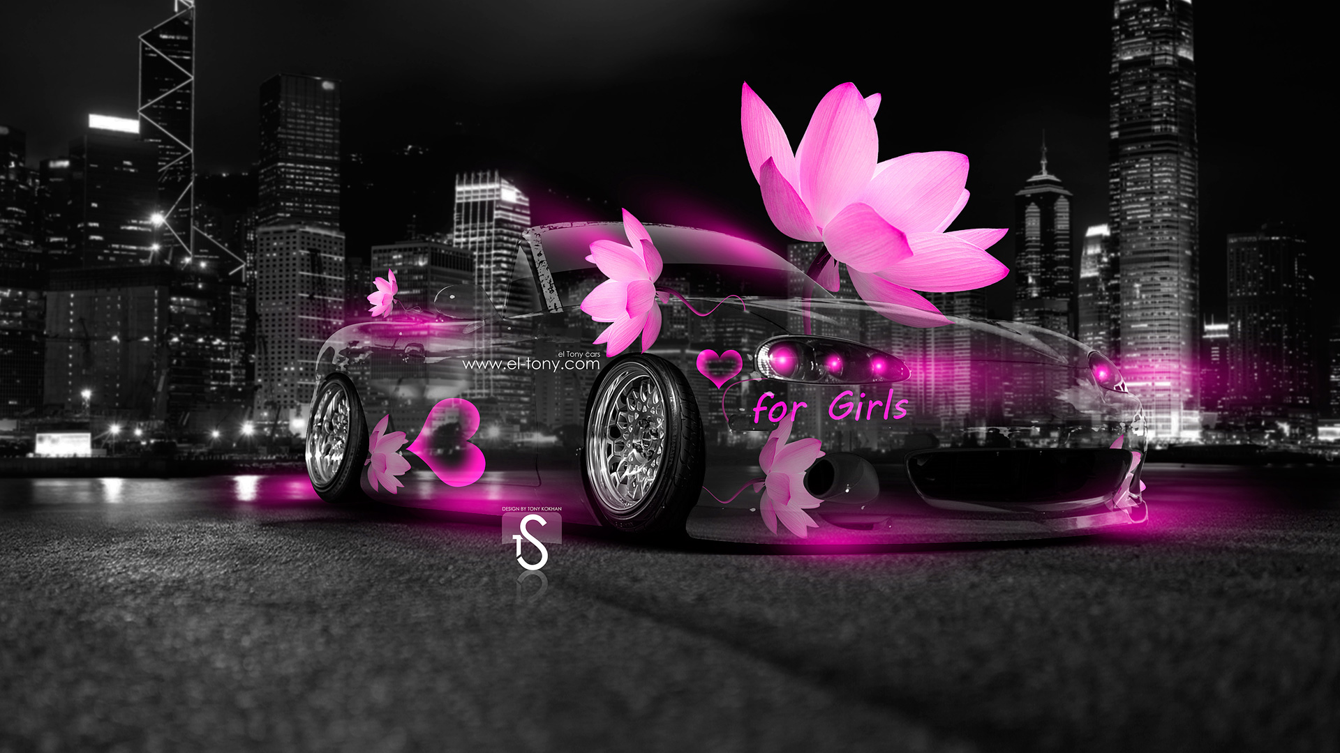 Etonnant Mazda Miata JDM Fantasy Flowers City Car 2014