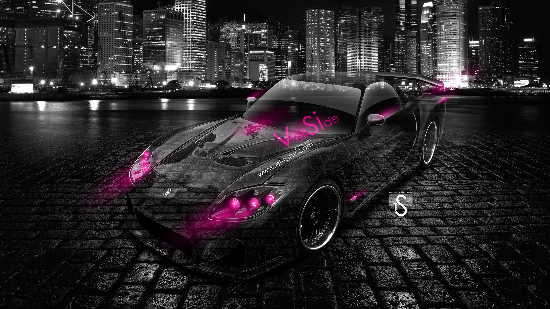 Mazda RX7 VeilSide Crystal City Car 2014 ...