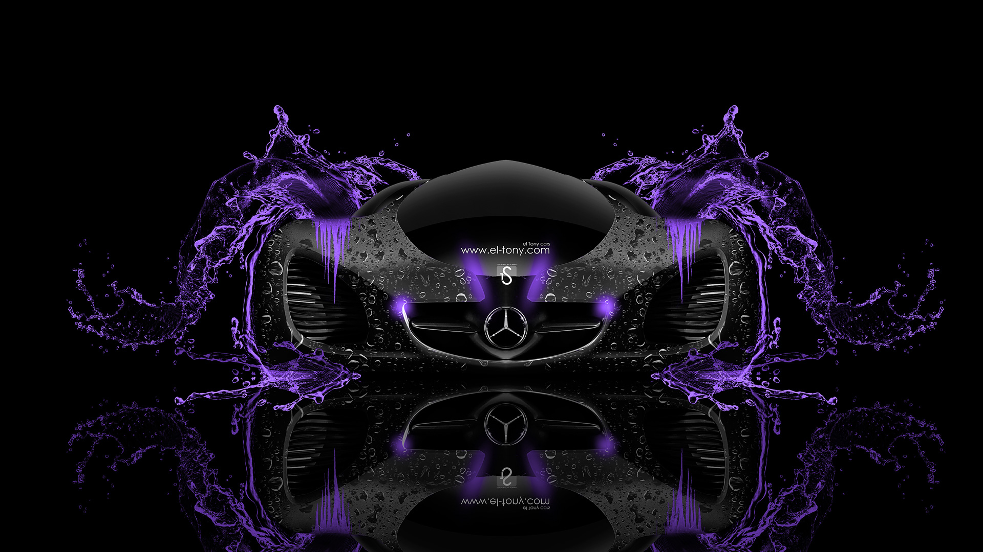 Mercedes benz biome fantasy water car 2014 el tony for Mercedes benz biome