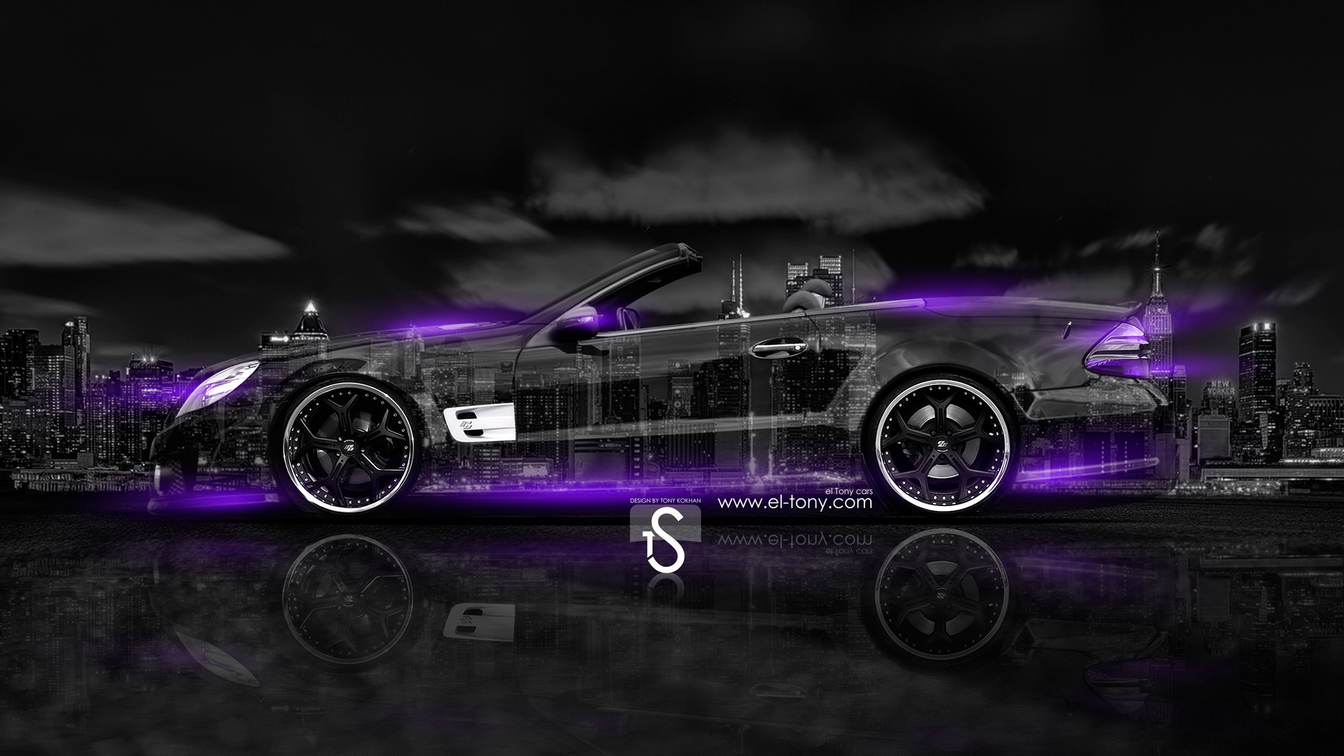 Exceptionnel Mercedes Benz SL Tuning Crystal City Car 2014
