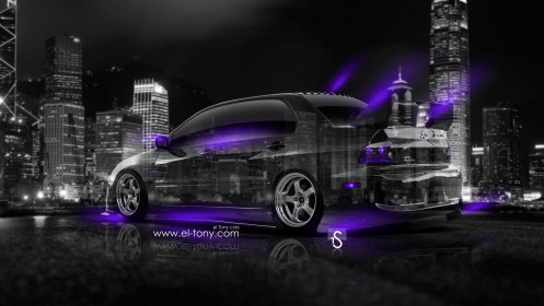 Mitsubishi-Lancer-Evolution-JDM-Crystal-City-Car-2014-Violet-Neon-design-by-Tony-Kokhan-[www.el-tony.com]