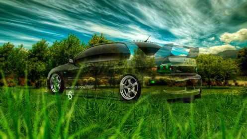 Mitsubishi-Lancer-Evolution-JDM-Crystal-Nature-Car-2014-HD-Wallpapers-design-by-Tony-Kokhan-[www.el-tony.com]