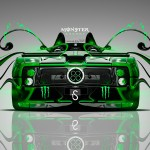 Monster Energy Pagani Zonda C12S  Plastic Car 2014