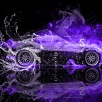 Nissan 370Z JDM Fire Water Car 2013