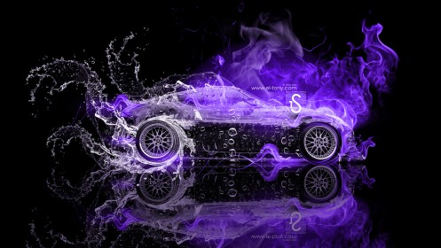 Nissan-370Z-JDM-Violet-Fire-Water-Car-2013-HD-Wallpapers--design-by-Tony-Kokhan-[www.el-tony.com]