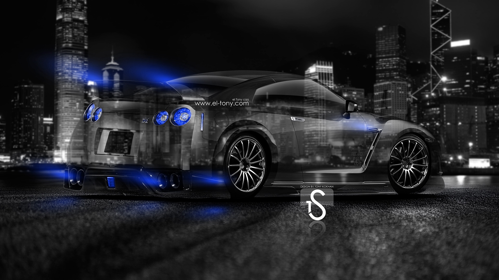 Wonderful Superieur Nissan GTR R35 Tuning Back Crystal City Car