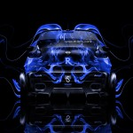 Nissan Juke-R Back Fire Abstract Car 2014